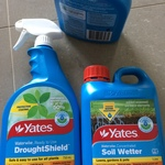 Woolworths Nationwide Yates Soil Wetter 1L $4.37 & Yates DroughtShield $2.87 - Clearance