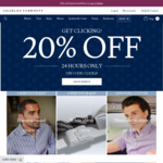 Extra 20% off Sitewide at Charles Tyrwhitt
