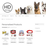 30% off Personalised Dog Collars and Dog Tags @ Hello Doggy Store
