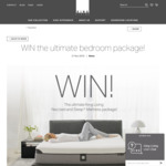 Win a King Size Neo Bed & Sleep+ Mattress Package Worth $13,536 from King Living