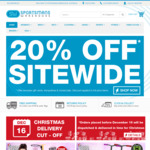 Pre Xmas Sale - Min 20% off Storewide Sale + Footwear from $7.49 @ Sportsmans Warehouse