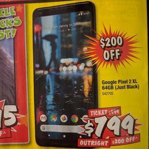 quality design d5c69 80f44 Google Pixel 2 XL 64GB (Just Black) - $799 @ JB Hi-Fi - OzBargain