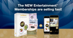 Entertainment Book $40.50 (Normally $60.75-$70.88) Delivered - Physical or Digital Membership