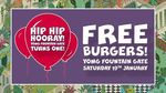 [VIC] Free Yo My With Cheese or Bergerk Burgers from 11am-12pm, Saturday 19th January @ YOMG (Fountain Gate)