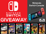 Win a Nintendo Switch with 5 Games or 1 of 5 Copies of GRIP: Combat Racing from Wired Productions