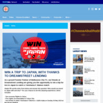 Win a Trip to Japan for 2 Worth $5,000 from Melbourne FC/Dreamstreet Lending