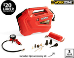 Workzone 1100W Portable Air Compressor $59.99 @ ALDI