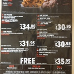Pizza Hut: 3 Large Pizzas and 3 Sides $34 Delivered
