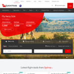 Qantas Save 30% on Economy Classic Flight Rewards - 5 Day Sale