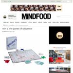 Win 1 of 9 Games of Sequence Worth $29 from MiNDFOOD
