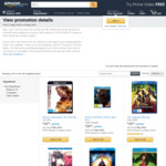 Amazon AU - Buy 1 Get 1 Free - Selected 4K & Blu-Rays + Delivery (Free with Prime/ $49 Spend)