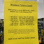 Telstra $65/Month Port-in or New Customer Offers (60GB Data, Unl Calls, 12 Month Contract) Phone or SIM Plans @ JB Hi-Fi