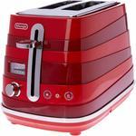 DeLonghi Avvolta 2 Slice CTA2003R $56.99, 4 Slice CTA4003R $98.79 Delivered @ Amazon AU