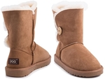65% off Ozwear Connection's Button Ugg Boot $99 + Delivery (Free with Club Catch) @ Catch