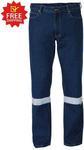 Bisley 3m Taped Industrial Straight Leg Mens Work Denim Jean $25.00 Delivered @ Budget Workwear