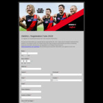 [VIC] Free Tickets AFL Essendon Vs Dogs Marvel Stadium Sat 10 Aug 720pm