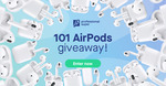 Win 1 of 101 Pairs of Apple AirPods Worth $319 from Professional Super/Student Super