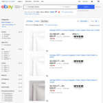 40% off HERITAGE 400TC Luxurious Egyptian Cotton Sateen Fitted Sheets + Further 20% Using Coupon (Prices from $8.62) @ Myer eBay