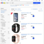 iPhone 11 128GB $1179 | XR 128GB $1029 | PS4 1TB PRO White or Fortnite Bundle $416.13 @ Big W eBay