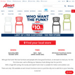 Funk Dining Chair $10 (Was $45) In-Store Only @ Amart Furniture