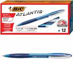 63% off BIC Atlantis Box of 12 Blue Ink When You Buy 3 Units - from $17.54 + Free Delivery @ BIC Amazon AU