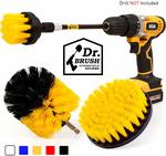 Holikme 4 Pack Drill Brush Power Scrubber Cleaning Brush - US $18.05 (~AU $27.65) Delivered @ Amazon US