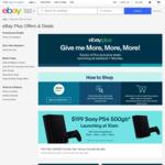 [eBay Plus] PlayStation 4 Slim $199, Parlux Hair Dryer $139, WORX Pressure Washer $99, Google Mini $19, Nerf $9 + More @ eBay