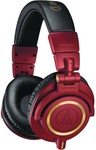 Audio-Technica ATH-M50XRD Red Limited Edition Over-Ear Headphones $128.43 + 2000 Points Delivered @ Qantas Store