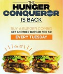 [NSW, VIC] Burger Project: Buy 1 Burger Combo, Get Another Burger for $2