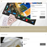 Buy a $250 Crown Gift Card & Receive a Free Custom Crown Monopoly Board Game @ Crown Gifts