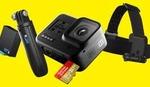 GoPro HERO8 Black $505.75, GoPro HERO8 Black Bundle $569, GoPro Max $678.30, Accessories + Delivery or C&C @ digiDIRECT