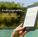 Kindle Paperwhite - Waterproof 8GB $149 Delivered (RRP $199) @ Amazon AU