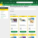 50% off All Atkins Bars, Powders Drinks and Meals at Woolworths