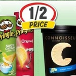 ½ Price Connoisseur Ice Cream Varieties 1L $5.50 @ IGA