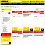 20% off HP, Lenovo, Dell, Acer, & Asus Computers (Excludes Gaming PCs, HP Spectre/Envy, Lenovo Chromebooks) @ JB Hi-Fi