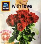 12 Stemmed Roses $19.99 @ ALDI