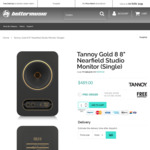 [In Stock] Tannoy Gold 8 - 8-inch Nearfield Studio Monitor (Single) $489 Delivered ($978 for Pair) Also: Gold 7/5 @ Bettermusic