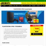 PS4 1TB Pro+Nioh 2/Borderlands $549; PS4 500GB+Borderlands/Uncharted/HZD $439; Xbox One S 1TB (Digital) $229 + More @ JB Hi-Fi