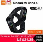 Xiaomi Mi Band 4 Chinese Edition USD $23.25 (~ $37.30AUD) @ AliExpress