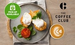 Eggs and Tomato on Toast with Large Coffee for $6.80 (RRP $16.90) @ The Coffee Club via Groupon