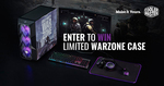 Win 1 of 2 COD: Warzone-Themed Chassis/Headset/Mouse Bundles from Cooler Master
