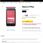 Optus X Play $39 + $30 Recharge Included + Free Delivery  @ Optus