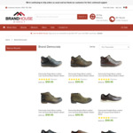Democrata Mens Leather Shoes & Boots (Clear Out) All Styles $59.95 + Shipping (When Coupon Applied) @ Brand House Direct