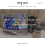 [NSW] Export Lamb Racks $25 (Normally $59.95) Sydney, Newcastle Delivery, Free over $95 Spend @ Craig Cook Natural Butcher