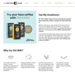 Free Small Oat Milk Coffee @ The Coffee Club (22 Aug)
