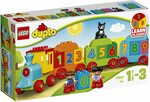 LEGO DUPLO Number Train 10847 Playset Toy $19 + Delivery ($0 with Prime/ $39 Spend) @ Amazon AU