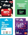 2,000 Flybuys Points (worth $10) on $50 Ultimate Him/Kayo/Hoyts or $100 Coles Mastercard ($5 Purchase Fee) @ Coles In-Store