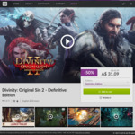 [PC] DRM-free - Divinity: Original Sin 2 Definitive Edition - $31.09 (was $62.19) - GOG