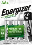 [Prime] Energizer 2000mAh Rechargeable Batteries AA, Recharge Power Plus, Pack of 4 $8.74 Delivered @ Amazon UK via AU