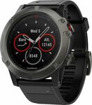 Garmin Fenix 5X $468.52 + $10.86 Delivery at Amazon US via AU